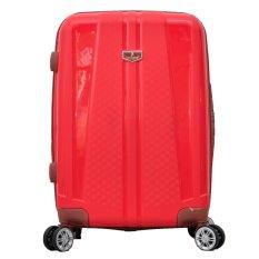 Polo Team Tas Koper Hardcase EXPANDER & TSA Lock Size 24 inch 808 - Merah