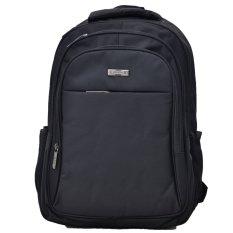 Polo Team Tas Ransel Laptop 502 + RAINCOVER - Hitam