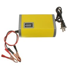 Portable Motorcrycle Car Battery Charger 6A/12V Accu Aki Motor Mobil / Baterai Charger -
