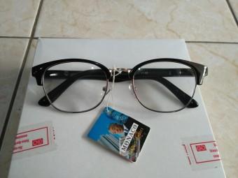 Promo kacamata plus 2.00 kacamata baca murah fashion oval trendy gaya korea 08fb5b9745