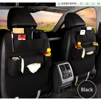 Promo Murah Car Seat Organizer Tas Mobil Multifungsi  di belakang Jok
