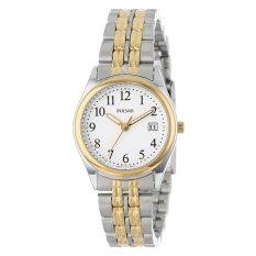 Pulsar Women's PXT588 Dress Two-Tone Stainless Steel Watch (Intl)