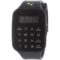 Puma Watch Black Plastic Case Polyurethane Bracelet Unisex NWT + Warranty PU910531001