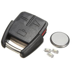 Qiaosha 3 Button Remote Key Fob Case DIY Repair Kit For Vauxhall Opel