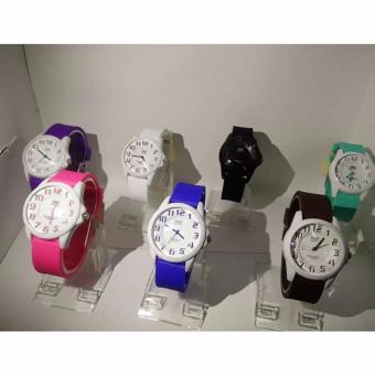 Qq Watch Original Jam Tangan Anak Casual Dan Trendy Qq 118 Genuine Rubber Strap - Daftar Update Harga Terbaru Indonesia