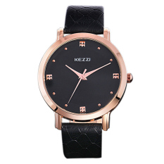 Quzhuo Lisa Genuine Couple Watches Business Purple Quartz Watch Belt Simple Solid Pointer Male And Female Couple Watches 1028