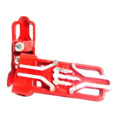 RajaMotor Footstep Depan Universal Motif Monster- Merah