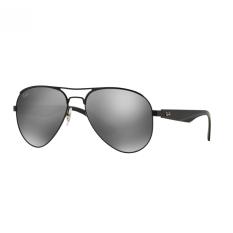Ray-Ban Sunglasses - RB3523 - Matte Black (006/6G) Size 59 Gray Silver Mirror