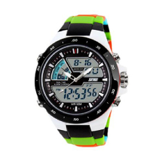 Readeel Men Sports Watches Waterproof Fashion Casual Quartz Watch Digital & Analog Military Multifunctional Men's Sports Watches (Multicolor)