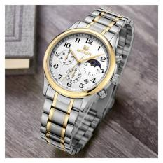 Relojes Hombre 2015 Luxury Top Brand Megir Stainless Steel Watches Men Relogio Masculino Wristwatches Quartz Movement Reloje