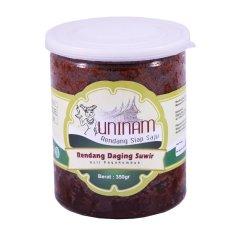 Rendang UniNam Daging Suwir - 350 gr