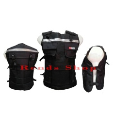 Rends Rompi Bikers / Alas Dada Touring / ala Densus 88/ Body Protector - SILVER