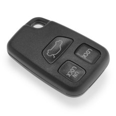 Replacement Keyless Entry Remote Key Fob Shell Case 3 Button For 2005 Volvo C70
