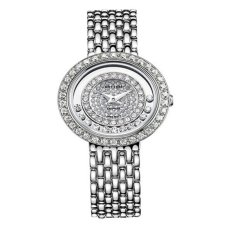 Rhythm Jam Tangan Ladies Collection L1203.01- Jam Tangan Wanita - Silver - Stainless Steel