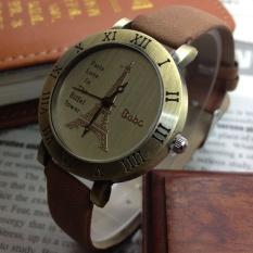Romance - Paris Eiffel Tower leather watch / Rome watch / wholesale / Vintage Lady Watch1 purple - intl