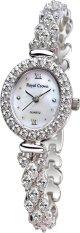 Royal Crown 1516B - Jam Tangan Wanita - Stainless - Silver (Free Size)