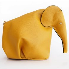 Saco - Elephant Sling Bag - Dark Yellow