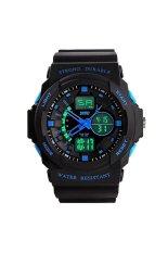 Sanwood Men's Waterproof Sport Mountaineer Watch Blue
