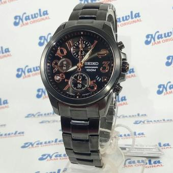 Seiko Ladies SNDX21P1 Chronograph Black Face | Jam Wanita SNDX21