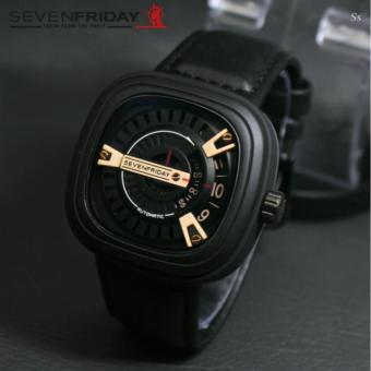 Seven-friday-Jam Tangan Pria Leather Strap-