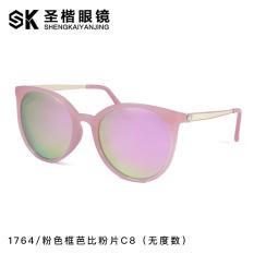 SHININGSTAR retro perempuan ayat yang sama terpolarisasi matahari kaca mata kacamata hitam