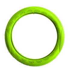 Easy Grip Anti Slip Soft Touch Silicone Steering Wheel Cover (Green)
