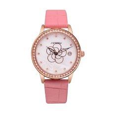 Sinobi 2016 New Fashion Simple Women Watches Luxury Brand Leather Strap Quartz Case Waterproof Wrist Watch 7 Colors For Choose