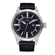 SINOBI With A Calendar Personality Large Dial Mens Watch-Black Black (Intl)