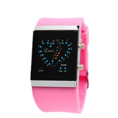Skmei 0952B Women Casual Waterproof Quartz Watches Pink (Intl)