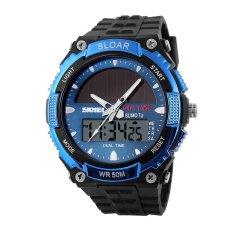 Skmei 1049 Men's Sport Black Rubber Wristwatch