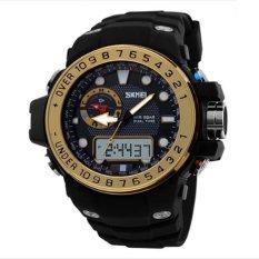 Skmei 1063 Watches Men Luxury Brand Digital Watch Sport Men Wristwatch Gold