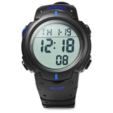 Skmei 1068 Military Army LED Watch Water Resistant (Blue) (Intl)