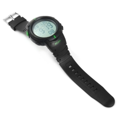 Skmei 1070 Military Army LED Watch Water Resistant Green (Intl)