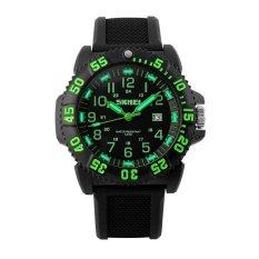 Skmei 1078 Men's Outdoor Sport Casual Rubber Quartz Wristwatch