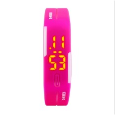 SKMEI 1099 Candy Fashion Personalized Funky LED Water Resistant Wristband Children Teen Lover's Watch Digital Healthy Fantasy