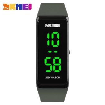 SKMEI Brand Men's Fashion Sport Casual Outdoor LED Display Waterproof Digital Smart Wristwatches1265 - intl