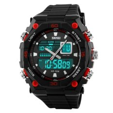 Skmei Casio Men Sport Led Watch Water Resistant 50m - Ad1092 - Jam Tangan Olahraga