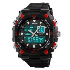 Skmei Casio Men Sport Led Watch Water Resistant 50m - Ad1092 - Jam Tangan Olahraga