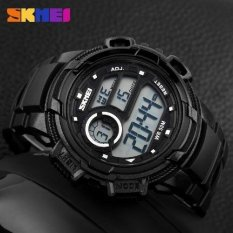 SKMEI Casio Men Sport LED Watch Water Resistant 50m - DG1113 (Black)