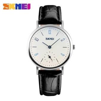 SKMEI Classic Lovers Couple Watch Women Men's Watches Quartz Waterproof Wrist Watches 9120 - Women -