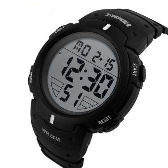 SKMEI Digital Pioneer Sport Watch Water Resistant 50m / Jam Tangan Pria Karet - DG1068 -