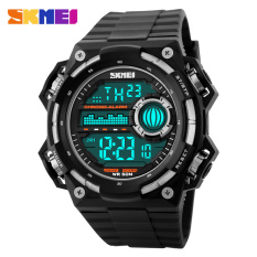 SKMEI Fashion Big Dial Brand Men Watch Casual Sports Watches Outdoor Waterproof LED Digital Men's Wristwatches ϼ
