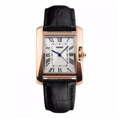 SKMEI Fashion Casual Ladies Leather Strap Watch Water Resistant 30m - 1085CL