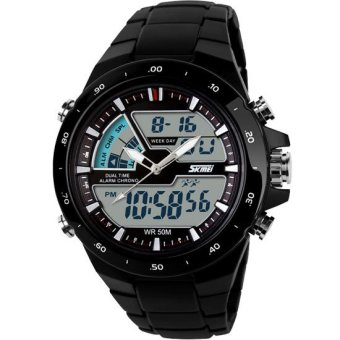 SKMEI Jam Tangan Skmei Pria Olahraga Tahan Air Analog Digital LED Multifungsi Waterproof Sports Men Watch