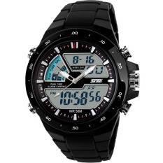 SKMEI Jam Tangan Skmei Pria Olahraga Tahan Air Analog Digital LED Multifungsi Waterproof Sports Men Watch - Hitam