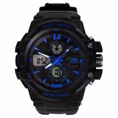 SKMEI Jam Tangan Sport S-Shock Sport Watch Water Resistant 50m AD0990 - Hitam