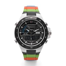 GoSport SKMEI Men Dual Display Waterproof Multi-function LED Sports Watch MultiColors