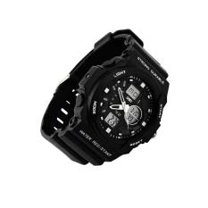 SKMEI Men LED Climbing Waterproof Electronic Watch 0955 Silver
