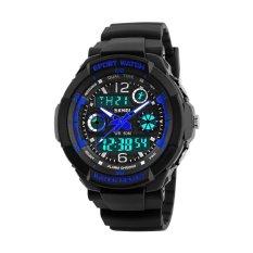 SKMEI Merek Tonton 1060 Anak Olahraga Watches 50m Mode Waterproof Kasual Quartz Digital Perhiasan Anak laki-laki Gadis LED Multifungsi jam tangan