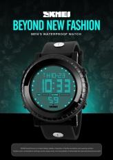 SKMEI merek Watch 1172 tinggi kualitas Digital Watch LED Display busana Olahraga Watch pria 5ATM air tahan multifungsi manusia Digital jam tangan - intl